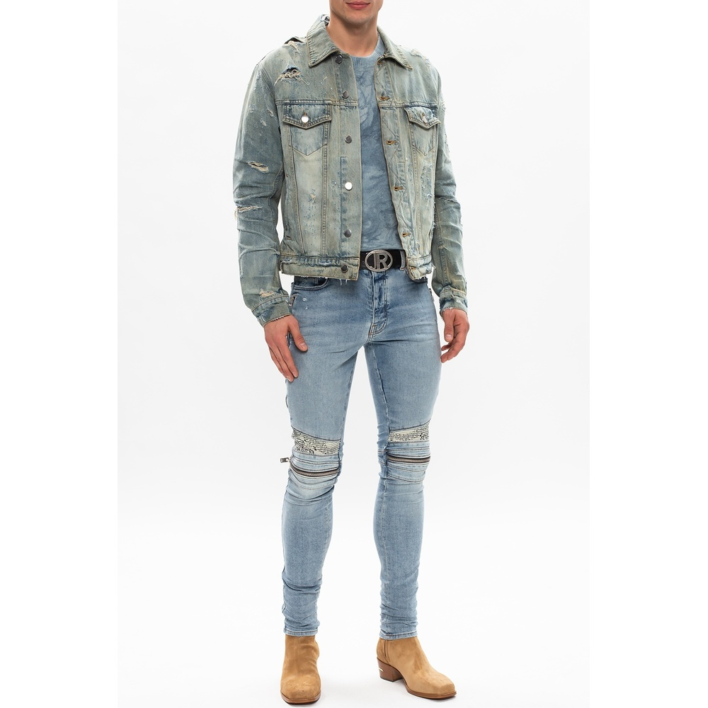 Blue Stonewashed denim jacket | Amiri | Spijkerjassen | Heren winter kleren