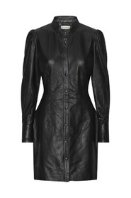 Loulou leather dress