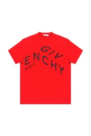 T-shirt z wyszytym logo