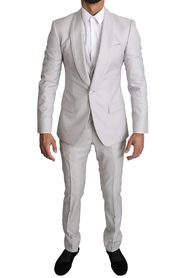Single Breasted 3 Piece Wool Suit
