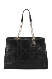 Begagnade Cannage Polochon Leather Tote Bag