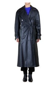 Opaco Leather Trench