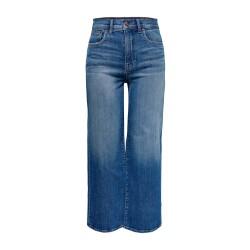cf50d7cc Medium Blå Vide HW Jeans | VERO MODA | Straight Leg Jeans | Miinto.no