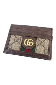GG Supreme Ophidia Card Holder Fabric Coated