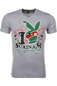 T-shirt - I Love Suriname