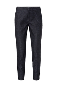Trousers with leopard print