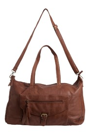 Brun Pieces Pcabby Leather travel Bag