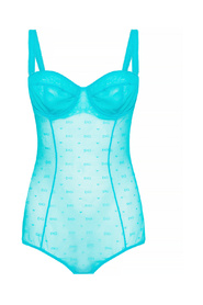 Transparent sleeveless body
