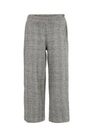 Trousers checked culotte