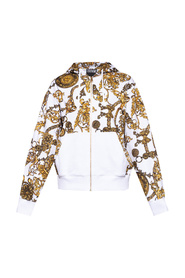 Sweatshirt with Baroque print