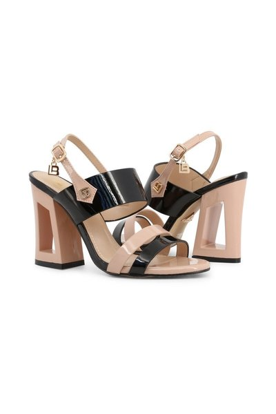 Laura Biagiotti Black Sandals 6296 Sandalen - Zwart