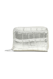Holly Light Gold Croco Print Wallet