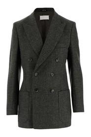 Blazer made of Prince of Wales wool