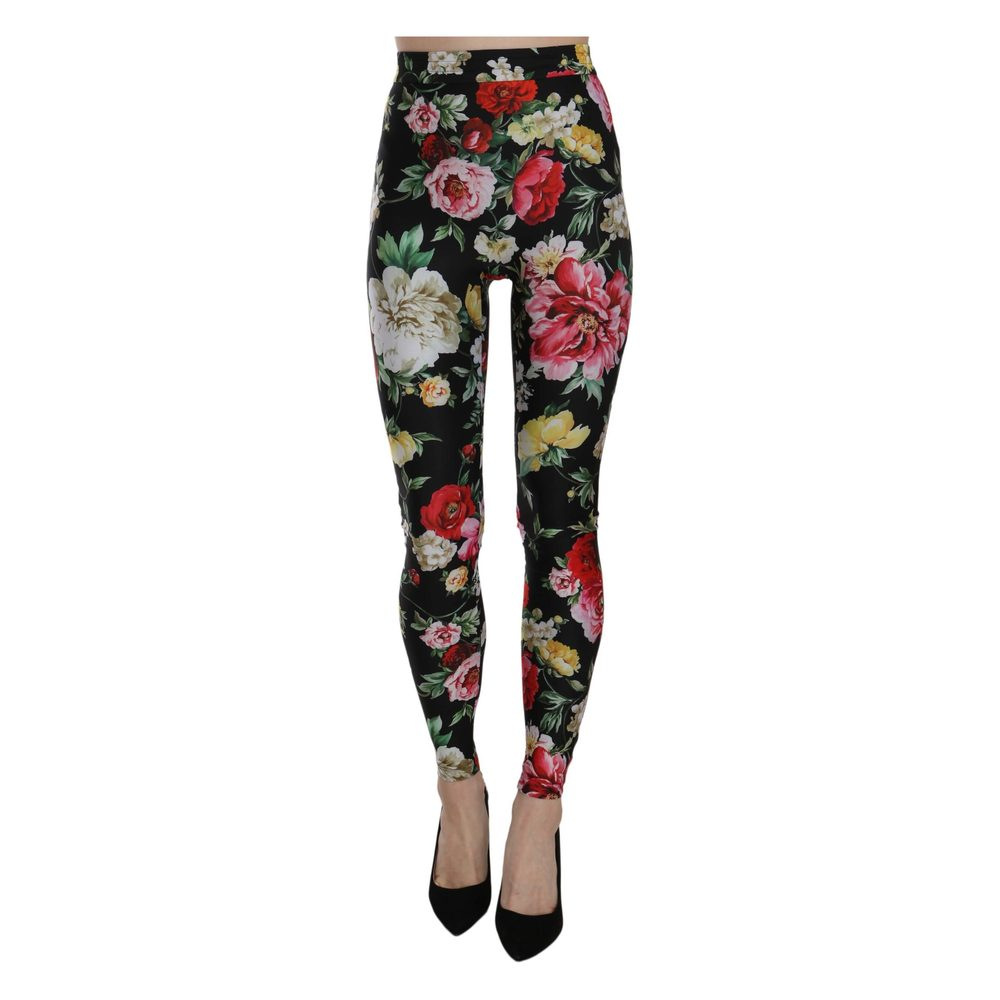 FLOWER MIX Alex print tights  Modström  Leggings