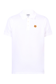 Broderet polo-T-shirt