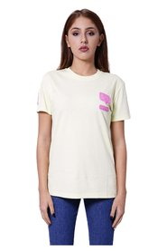 Silicon patch T-shirt