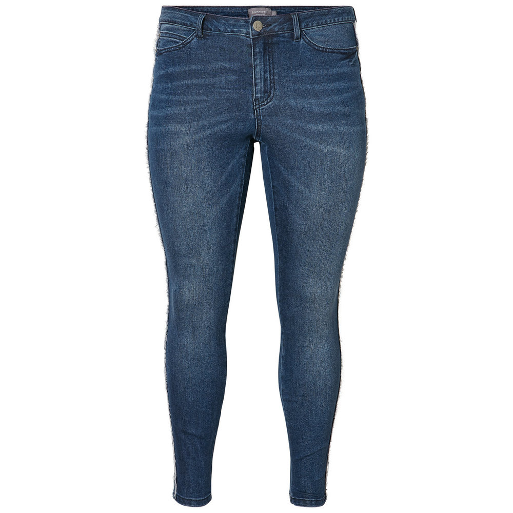 Jeans Ankle ruffle