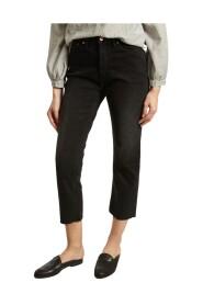 Milo High Waist 7/8 Length Tinted Jeans