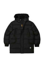 PADDED DOWN JACKET WITH HOOD