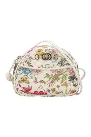 Floral Trapuntata Nylon Crossbody Bag