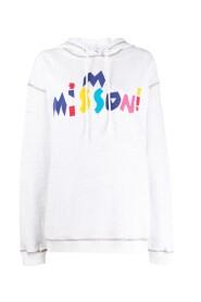 Multicolor logo hoodie