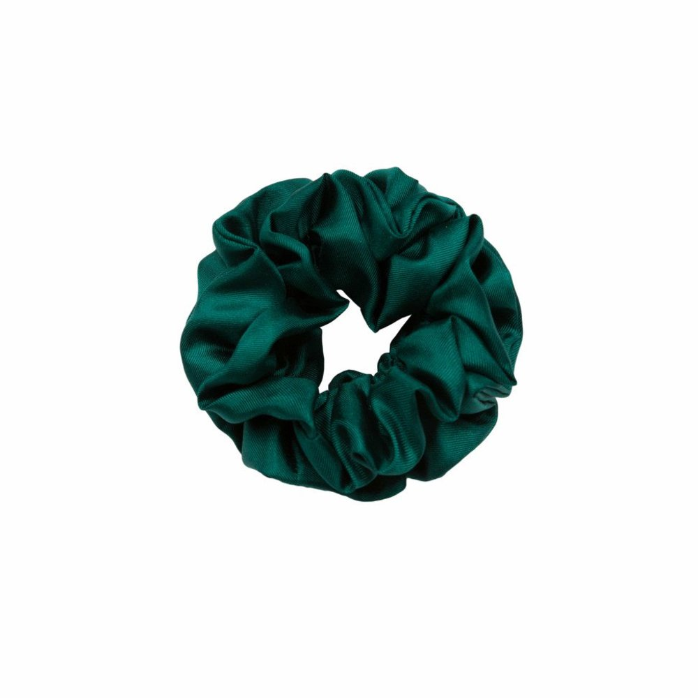 Hold Solid Silk Scrunchie Hårpynt