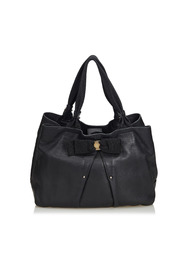 Vara Leather Bow Hobo Bag