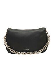 moon Small-size leather bag