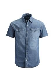 Overhemd met korte mouwen Basic