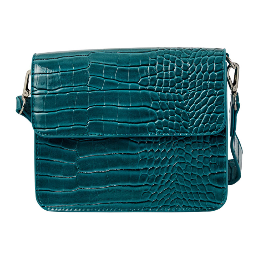 Cayman glanzende crossbody tas