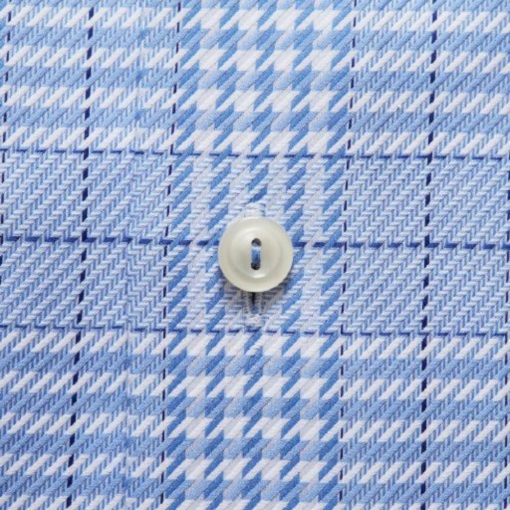 Blue Overhemd Geruit LM 100000565 21   Eton   Zakelijke Overhemden   Herenkleding