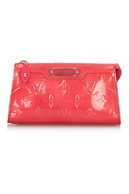 Vernis Trousse Cosmetic Pouch Leather
