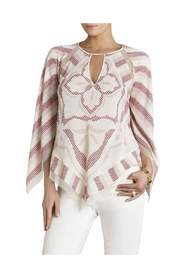 Elyza Print Block Top