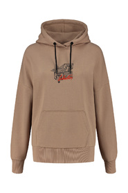 SELECTED BY KATE MOSS LOGO HOODIE SOFT