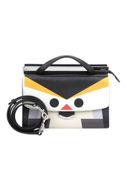 Monster Demi Jours Leather Satchel