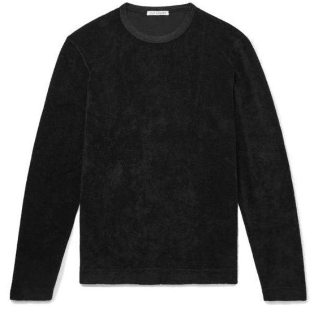 Longsleeve Black Terry