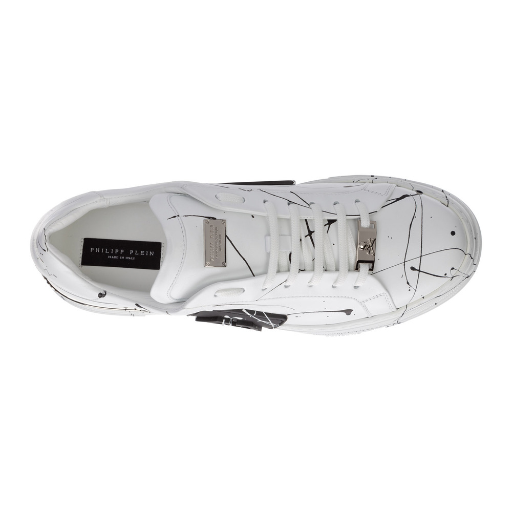 White Leather trainers sneakers phantom kicks | Philipp Plein | Sneakers | Herenschoenen
