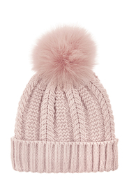 Luxe Pom Beanie Casual Knitted