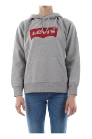 LEVIS 35946 GRAPHIC SPORT HOODIE SWEATER Women DARK GREY