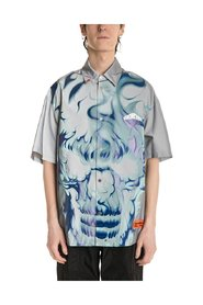 Skull Button Up