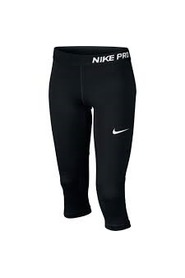 NIKE PRO - 3/4 TIGHTS  - SORT.