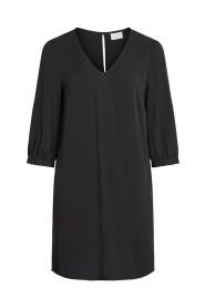 Mini jurk 3/4-mouw
