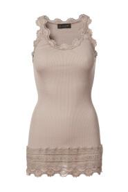 Lang silke top Vintage 5315-341
