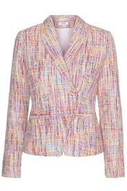 AMY Pink Tweed Blazer