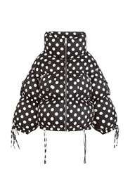 Dotted Puffer Jacket