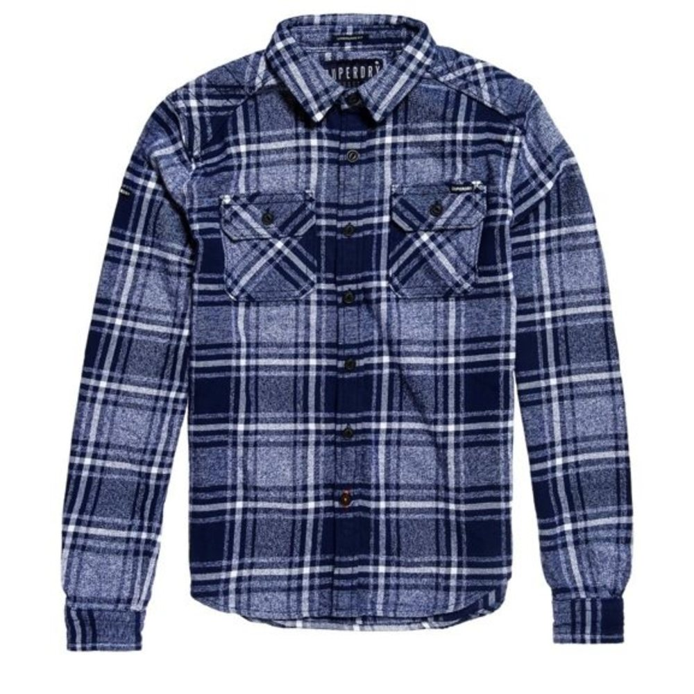 Milled Flannel L/s Shirt