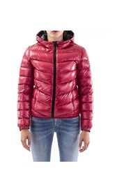 Glossy Hooded Puffer Jacket