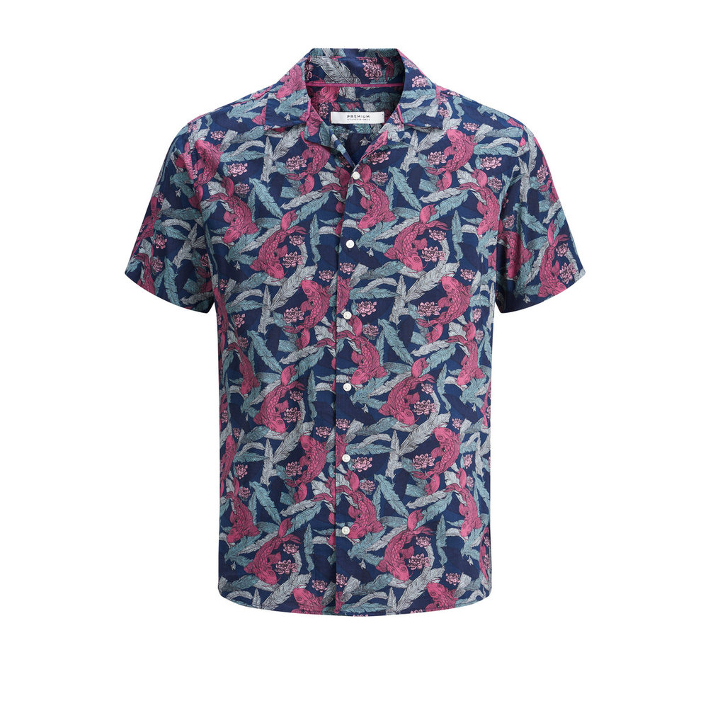 Short sleeved shirt Printed