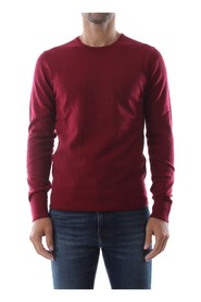 CALVIN KLEIN K10K102727 SUPERIOR WOOL KNITWEAR Men RED