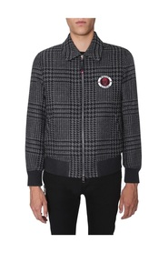 BOMBER WITH LOGO PATCH